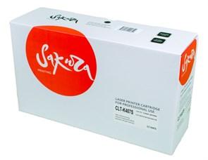 Картридж SAKURA CLTK407S для Samsung CLP-320/321/325/326/3185/318, черный, 1500 к.