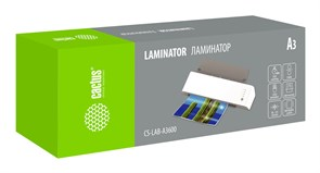 Ламинатор Cactus CS-LAB-A3600 A3 (80-125мкм) 60см/мин (2вал.) лам.фото