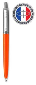 Ручка шариковая Parker Jotter Color (2076054) оранжевый M синие чернила блистер
