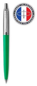 Ручка шариковая Parker Jotter Color (2076058) зеленый M синие чернила блистер