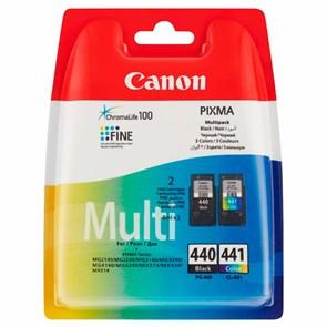 Картридж струйный Canon PG-440/CL-441 5219B005 черный/трехцветный x2упак. (180стр.) для Canon MG2140