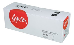 Картридж SAKURA CF413A для HP LaserJet Pro M452nw, M452dn, M477fnw, M477fdw, M477fdn, M377dw, пурпурный, 2300 к.