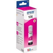Чернила Epson 106M C13T00R340 пурпурный (1900стр.) (70мл) для Epson L7160/7180