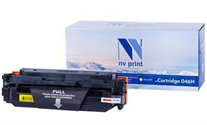 Картридж NVP совместимый NV-046H Yellow для Canon i-Sensys LBP 653Cdw/ 654Cx/ MF 732Cdw/ 734Cdw/ 735Cx (5000k)