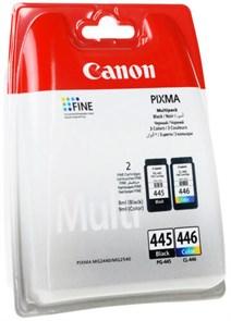 Картридж струйный Canon PG-445/CL-446 8283B004 многоцветный/черный набор для Canon MG2440/MG2540