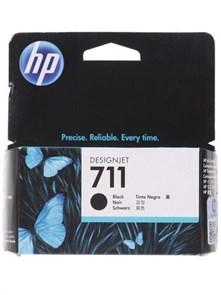 Картридж струйный HP 711 CZ129A черный (38мл) для HP DJ T120/T520