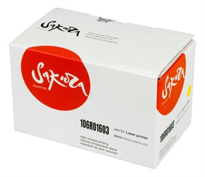 Картридж SAKURA 106R01603 для Xerox Phaser 6500/Workcenter 6505, желтый, 2500 к.
