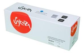 Картридж SAKURA CE321A для HP Color LJ PRO CP1525N/CP1525NW, синий, 1300 к.
