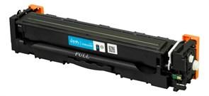 Картридж SAKURA CF401A/045C для  HP и Canon, синий, 1 300к.