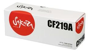 Картридж SAKURA CF219A для HP LJ Pro m104a/ m104w/ m132a/ m132fn/ m132fw/ m132nw, черный, 12 000 к.