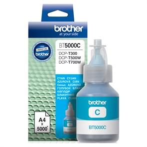 Чернила Brother BT5000C голубой (5000стр.) для Brother DCP-T300/T500W/T700W
