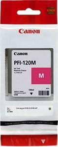 Картридж струйный Canon PFI-120 M 2887C001 пурпурный (130мл) для Canon imagePROGRAF TM-200/205