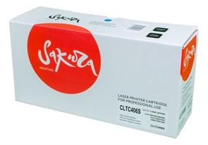 Картридж SAKURA CLTC406S для Samsung CLP-360/365/366/368, CLX-3300/3305/3306/3186/3185, синий, 1000 к.