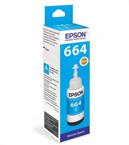 Чернила Epson T6642 C13T66424A голубой (70мл) для Epson L100