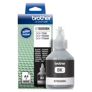Чернила Brother BT6000BK черный (6000стр.) для Brother DCP-T300/T500W/T700W