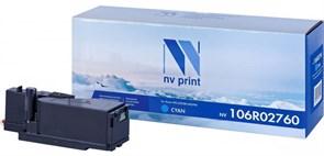 Картридж NVP совместимый NV-106R02760 Cyan для Xerox Phaser 6020/6022/ / WorkCentre 6025/6027 (1000k)